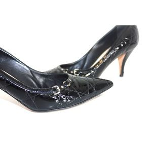 Dior Shoes - Christian Dior Patent Leather Pointed Toe Pumps
